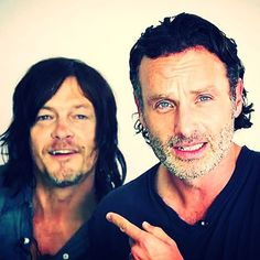 My two favorite man! ANDY & NORMAN