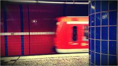 Hamburg. Rotblau.