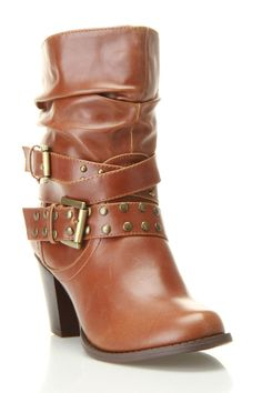 These are stylish yet east on the feet. blossom Niche-3 Bootie In Cognac - Beyond the Rack