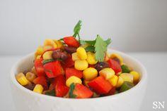 Black Bean & Corn Salsa | Sincerely Nourished