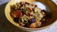 For Love of the Table: Basmati Pilaf with Dried Tart Cherries & Pistachio...