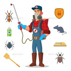 Pest Control Dubai, Looking for a pest control company in Dubai? Leading Cockroach, bedbug removal in Dubai and Best Solution for All type of pests Best Pest Control, Pest Control Services, Banksy, Termite Control, Humming Bird Feeders, Character Illustration, Fleas, Cartoon Characters, Character