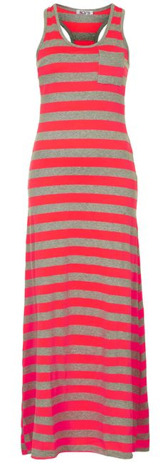 Stripe Maxi Dress- looks so comfortable! I need a nice comfy maxi dress