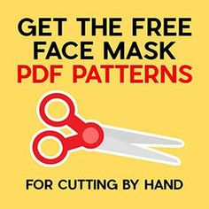 Answers to all of your questions about making DIY face masks from cloth fabric, including free patterns, recommended materials, how to wear one, and care instructions. Free tutorials to help you make your own homemade face mask quickly and easily. Easy Face Masks, Homemade Face Masks, Diy Face Mask, Diy Mask, Fabric Markers, Fabric Glue, Sewing Hacks, Sewing Projects, Old T Shirts
