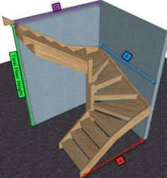 New Open Basement Stairs Wood Staircase Ideas Spiral Staircase basement Ideas Open staircase Stairs Wood Open Basement Stairs, Open Stairs, Wood Stairs, House Stairs, Attic Stairs, Basement Ideas, Stairs To Loft, Small Space Staircase, Loft Staircase