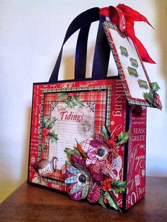 Crafting hints, tips and tutorials: Have fun making hand made gift bags