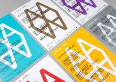 Corporate Identity for Arts Santa Mònica by clase bcn , via Behance