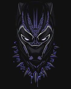 Black Panther, T & # Challa - Marvel Marvel Avengers, Hero Marvel, Marvel Fan, Marvel Dc Comics, Captain Marvel, Black Panther Marvel, Black Panther Art, Black Art, Black Pantha