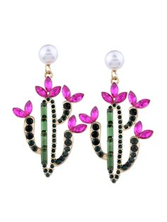 Image result for cactus flower jewelry