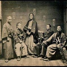 Samurai ~ 1860 – 1880    --->> Please feel free to repin