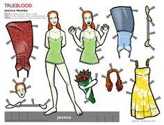 Jessica Hamby - True Blood Paper Doll