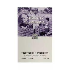 Libro Mexico Barbaro - $ 80.00
