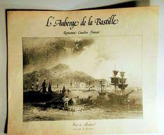 L' Auberge de la Bastille Menu Restaurant  French Canadian