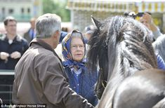 Royal Windsor Horse Show - A new millennium: This image from the 2009 event shows the Queen's interest is as keen as ever