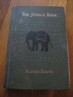 RARE THE JUNGLE BOOK BY RUDYARD KIPLING 1899 CENTURY CO EDITION