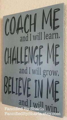 Coach Gift Gift for a Coach Gift for Cross Country Coach Coach Gift Softball Tennis Coach Track Coach Gift Basketball Coach Gift Great Quotes, Quotes To Live By, Me Quotes, Inspirational Quotes, Wall Of Quotes, Quotes For Boys, Motivational Quotes For Workplace, Motivational Message, Believe Quotes