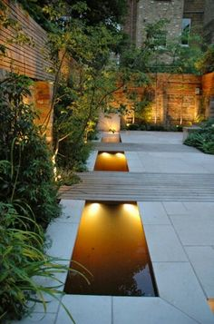 Garden design ideas rectangle water features 53 Ideas for 2019 - 9 contemporary garden design Landscape ideas Contemporary Garden Design, Landscape Design, Contemporary Classic, Contemporary Landscape, Contemporary Water Feature, Landscape Architecture, Architecture Design, Modern Design, Urban Garden Design