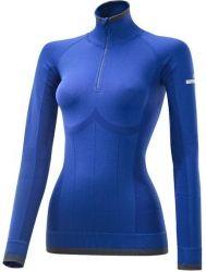 Essential Seamless Longsleeve Shirt - Cobalt/Continental Grey