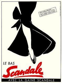 Le Bas Scandale ~ René Gruau