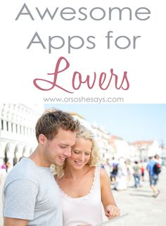 Who woulda thought that a cheap (or free) app could actually bring a little spark into your relationship!?! I was pleasantly surprised at the fun romantic apps I found and am anxious to try them all out. With the click of a few buttons, you'll be sharing poetry, custom coupons, personalized cards, or thumb kisses. That's right, thumb kisses!! Check out my favorite Valentine's Day apps for lovers!