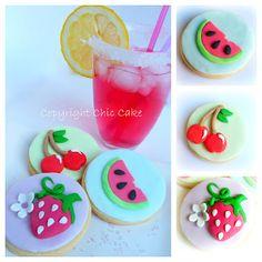 Chic Cake: Frutta Biscotti