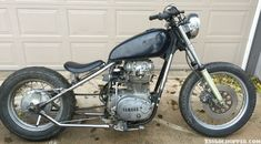 Take a look at Morbid's 1981 xs 650 bobber bike which he named Tiffany. What do you think? Check out more bikes at www.xs650chopper.com