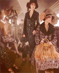 Viaggio in prima classe per la campagna Autunno/Inverno 2012/13 di Louis Vuitton - Leggi l'articolo!