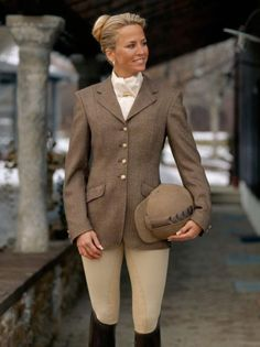 Pikeur Epsom Tweed Jacket -- Perfect for those of us with bays or chestnuts.