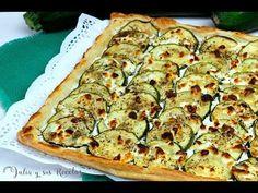 Tapas, Sin Gluten, Vegetable Pizza, Zucchini, Vegetarian Recipes, Food And Drink, Dessert Recipes, Thanksgiving, Pasta Filo