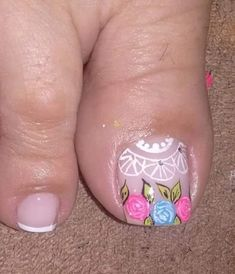 Toe Nail Art, Toe Nails, Beauty Skin, Hair Beauty, Gorgeous Feet, Manicure And Pedicure, Nail Tips, Nail Designs, Lily