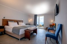 As close to the sea as it gets, the renovated Beach front bungalows at Xenia Ouranoupolis, Halkidiki,Greece Halkidiki Greece, Great Hotel, Thessaloniki, Bungalows, Hotels, Sea, Furniture, Home Decor, Decoration Home