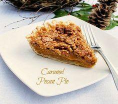 Luscious Caramel Pecan Pie - Bunny's Warm Oven