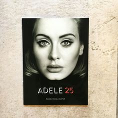 New delivery @redstarmusicltd  Get your music from Adele's latest album  for piano/vocal/guitar.  #adele  #25 #hello #whenwewereyoung #piano #vocal #guitar #sheetmusic #chords #ballymena #antrim #northernireland #music #musicni #redstar by redstarmusicltd