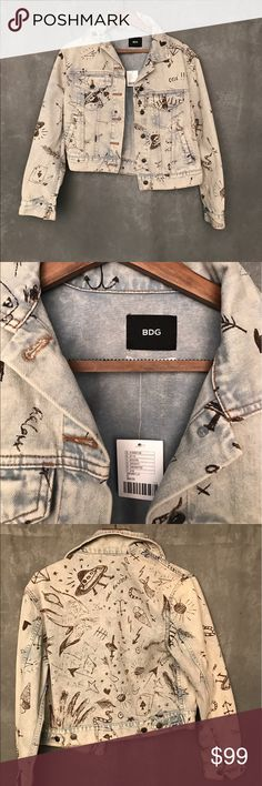 Urban outfitters BDG Jean Jacket (brand new!!) Epic Urban outfitters BDG Jean Jacket (brand new!!) Urban Outfitters Jackets & Coats Jean Jackets