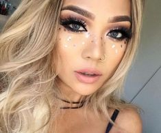 Going To Coachella Festival Try This Beautiful 55 Makeup Ideas 52