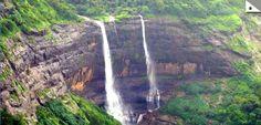 Rajmachi view of waterfall
