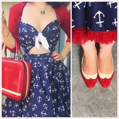 Miss Victory Violet Sailor Outfit