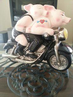 Harley Davidson Cookie Jar