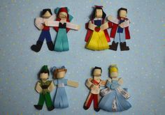 Character Clippie Sets- Couples.