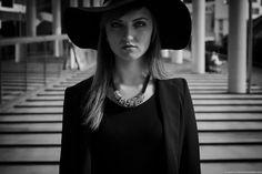 Portrait - © Quentin Bacchus, 2014 Bacchus, Portrait, Photography, Black, Dresses, Fashion, Gowns, Moda, Black People