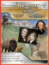 lewis and clark - Once a week unit study by Homeschool Legacy   http://www.homeschoollegacy.com/index.html