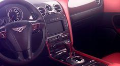 Bentley Continental GT Interior by Charlotte Rochenard, via Behance