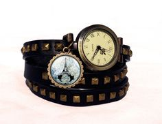 Leather watch bracelet -Assasin's creed, 0538WBBC  from EgginEgg by DaWanda.com