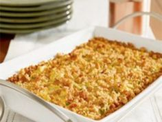 Also known as Summer Squash Casserole, this is a very simple yet authentic Southern recipe that my family has been making for years.  This casserole goes very well with those summer, fresh vegetable dinners and is also a hit at pot luck dinners, family reunions, or any other gathering of people.  As with all good southern food, make sure you have your bottle of bright red paprika ready to sprinkle on top.  Enjoy!