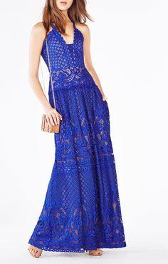 Christel Floral Lace Gown