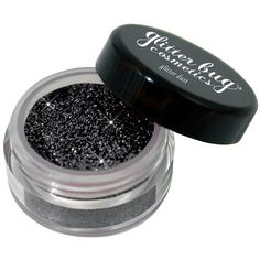 Amazon.com: Cosmetic Glitter Dust Black: Beauty (24 BAM) ❤ liked on Polyvore featuring beauty products, makeup and glitter