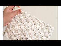 Clutch örgü çanta yapımı (penye ip - Ribbon ip)-2 - YouTube