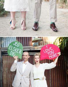 Whimsical Giant Flower Wedding: Brittany + Paul | Green Wedding Shoes Wedding Blog | Wedding Trends for Stylish + Creative Brides