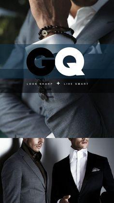 GQ magazine mobile web design by Calvin Pedzai, via Behance