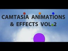"""Camtasia Text and Animation Styles Volume 2"""" is a new collection of 10 useful texts and animations that you can import and use directly in Camtasia Studio 8."""